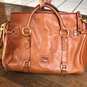 🧡🍁Florentine Large Satchel Dooney & Bourne